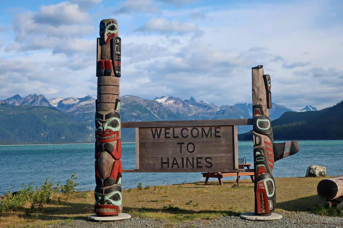 Totem Poles in Haines