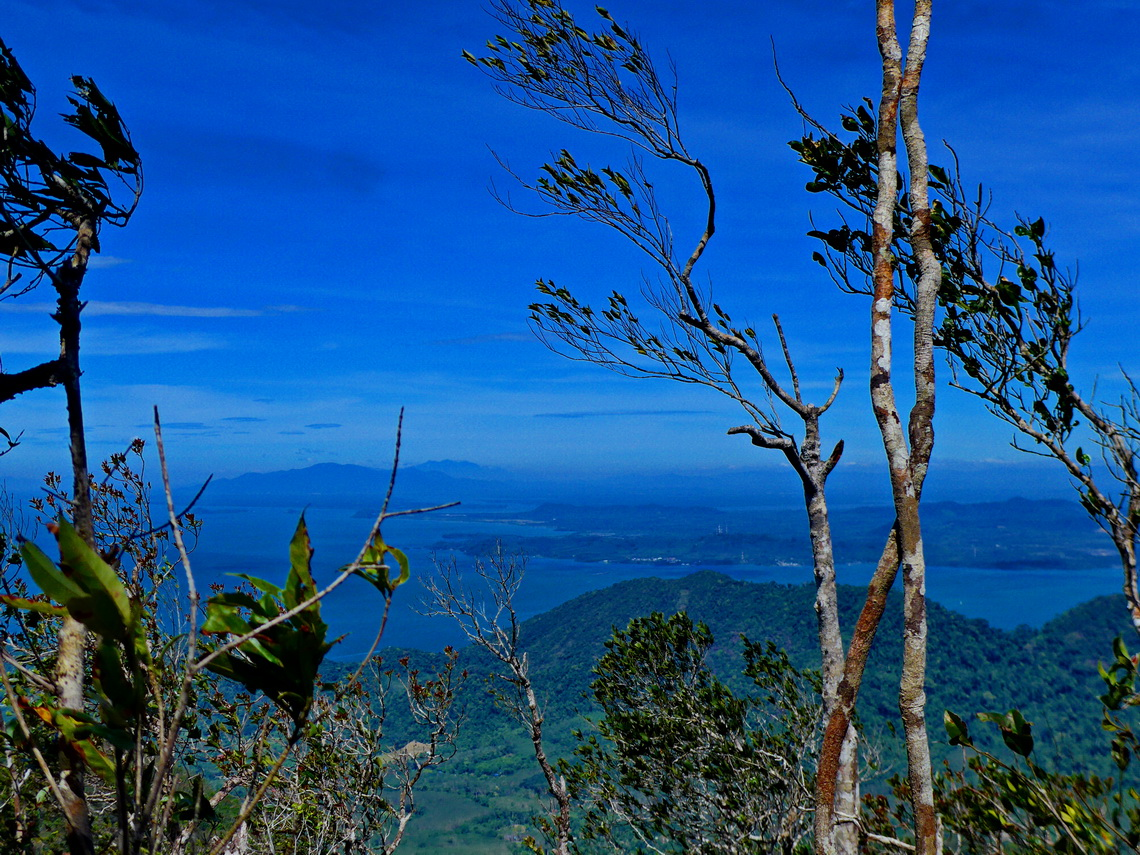 View to the mainland from the summit of Chom Prasat 2