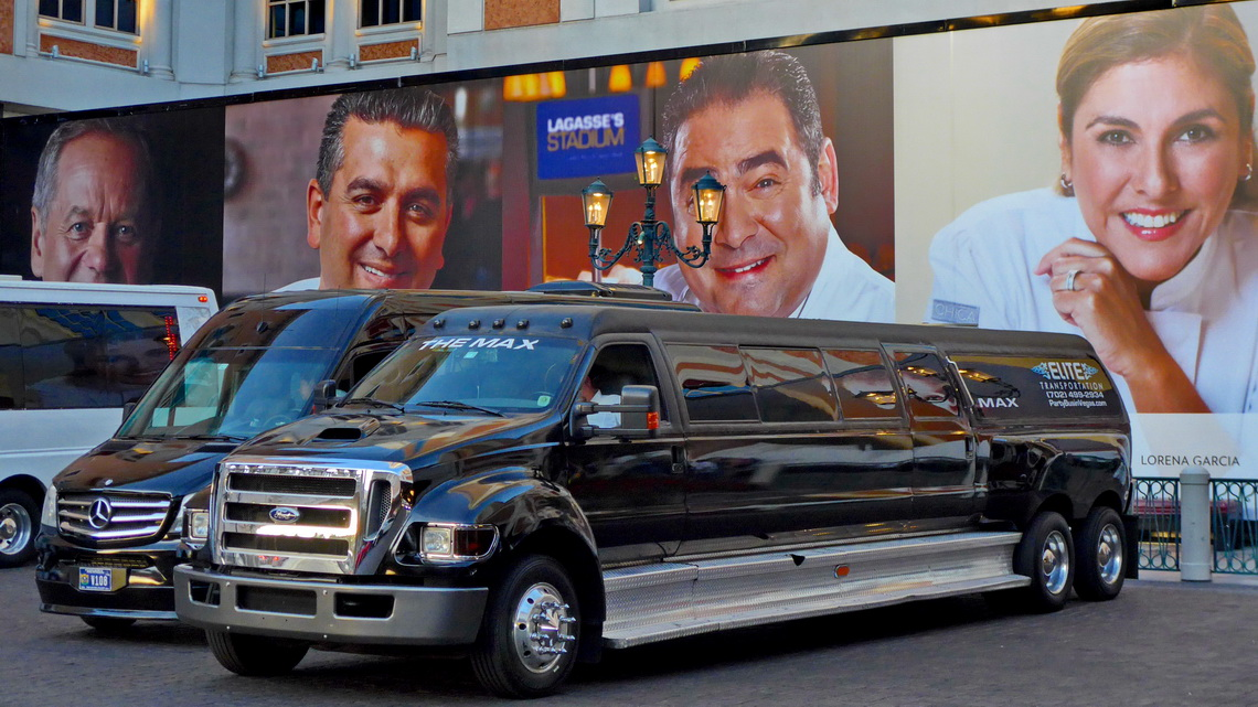 Stretch Limo with Movie Stars
