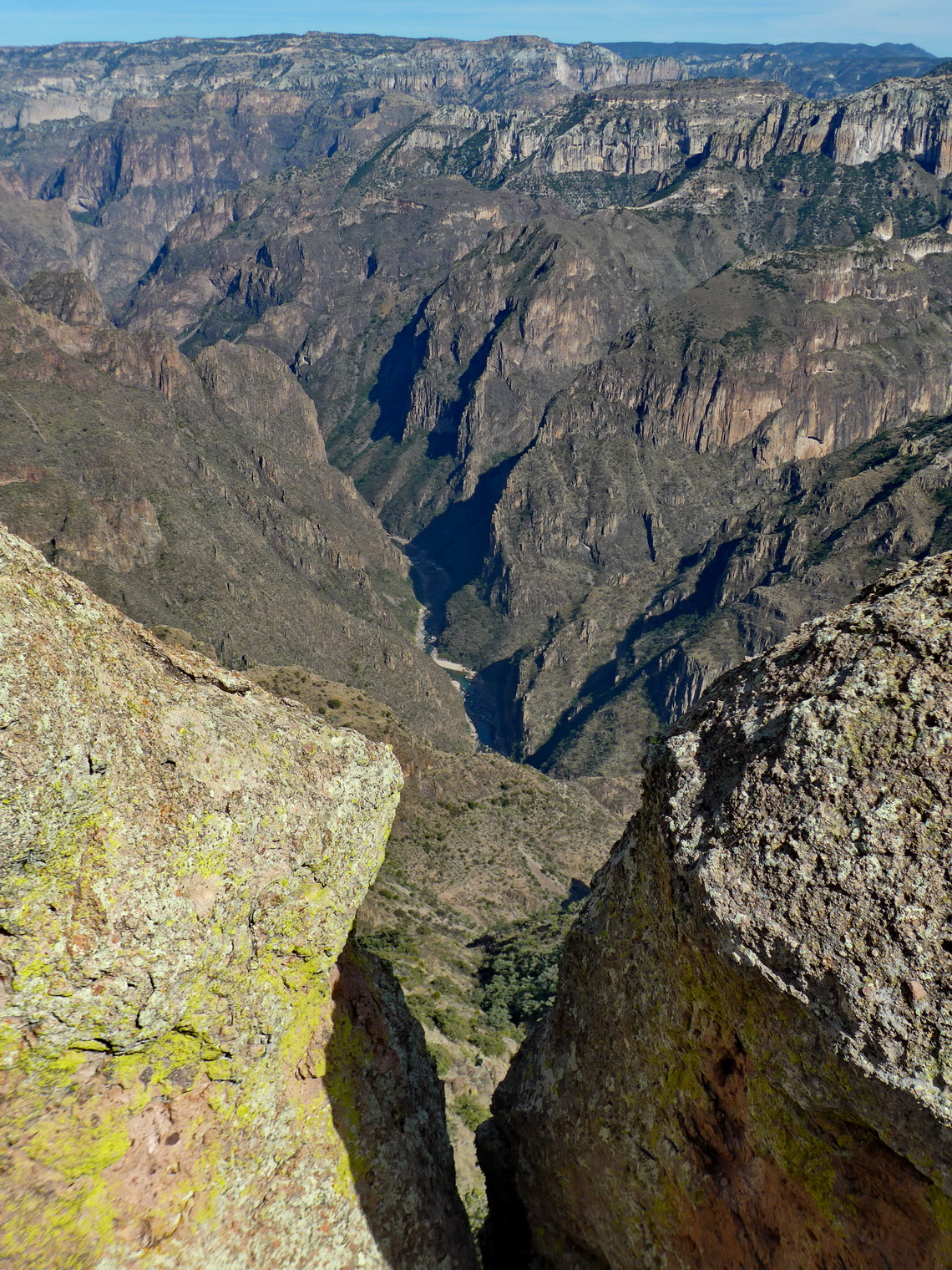 The bottom of the Copper Canyon