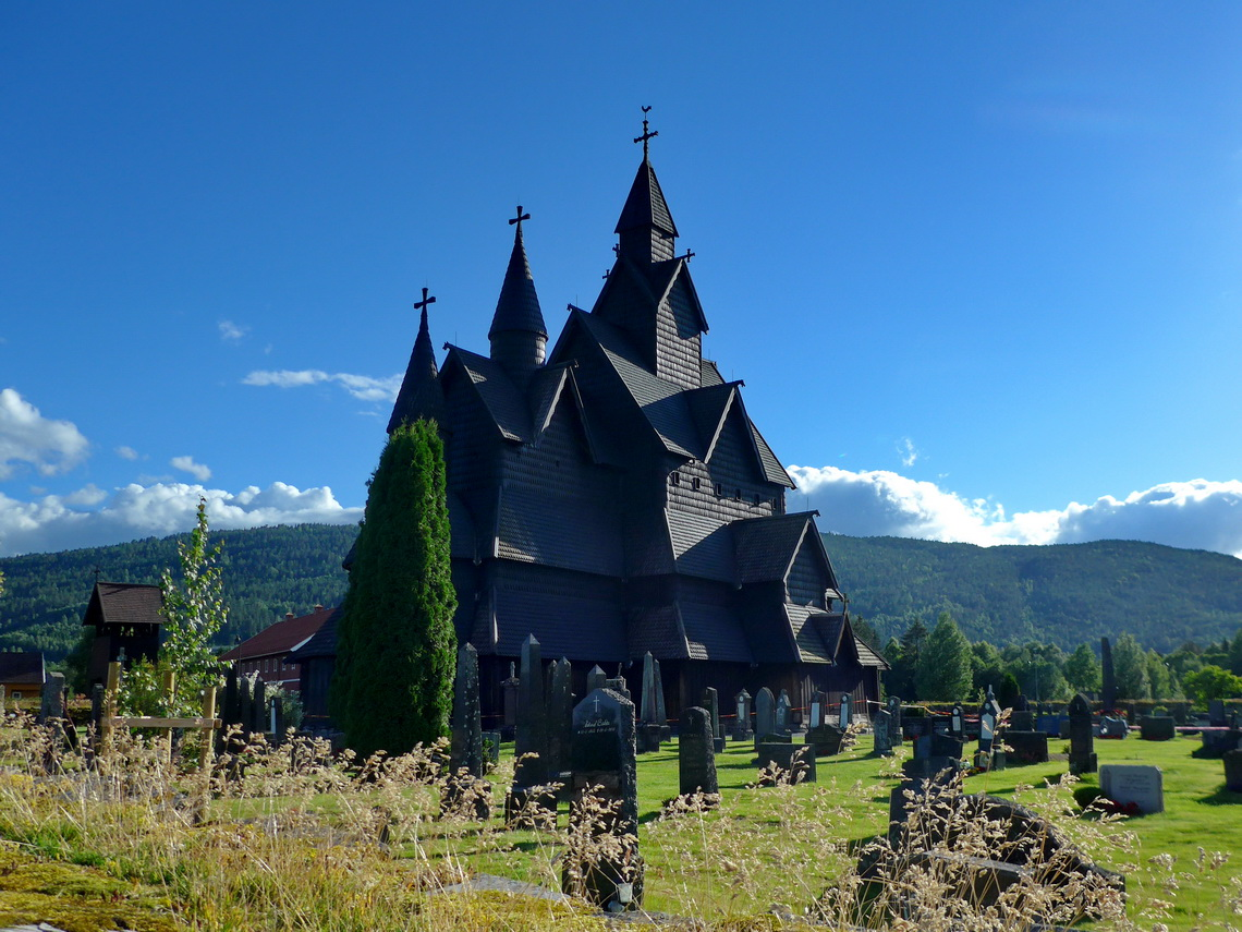 Heddal Stave Church, completed 12th century and an UNESCO World Heritage Site