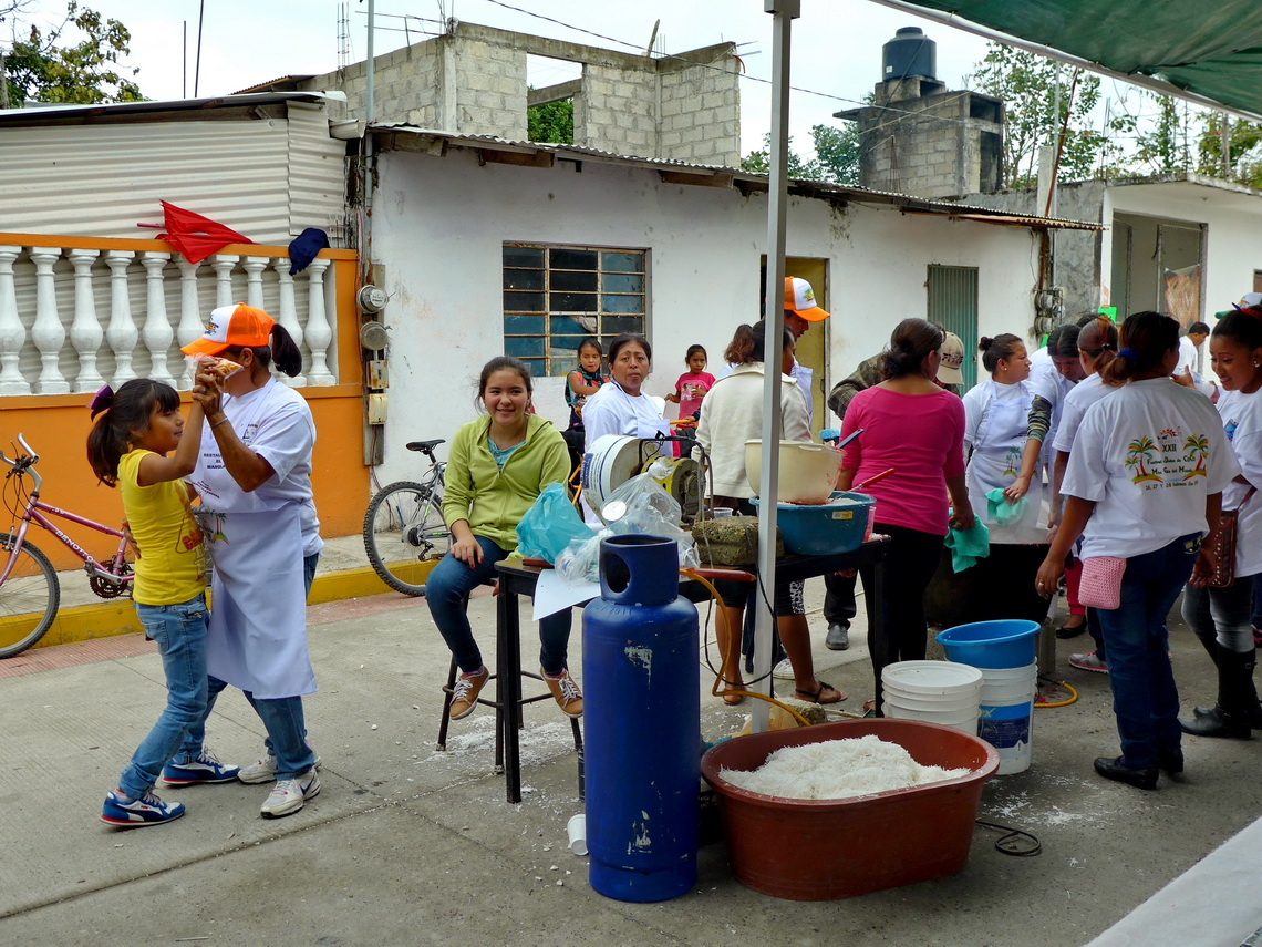 Preparations for the Fiesta de Coco