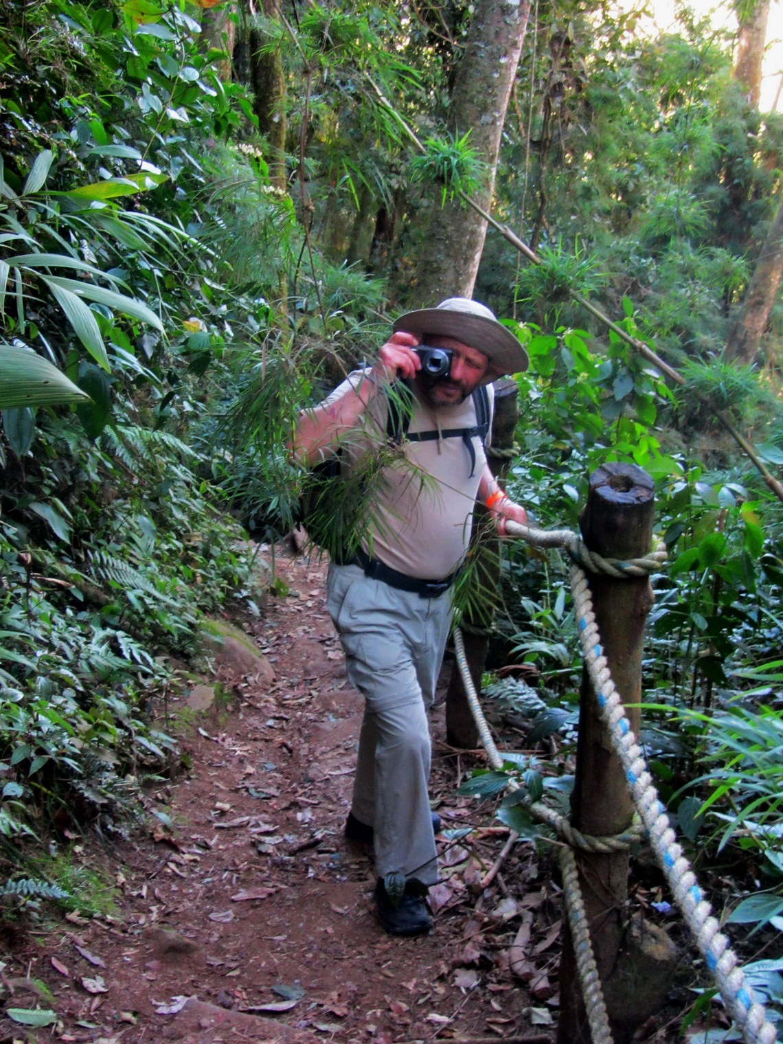 Tommy in the Parque Nacional Chicaque