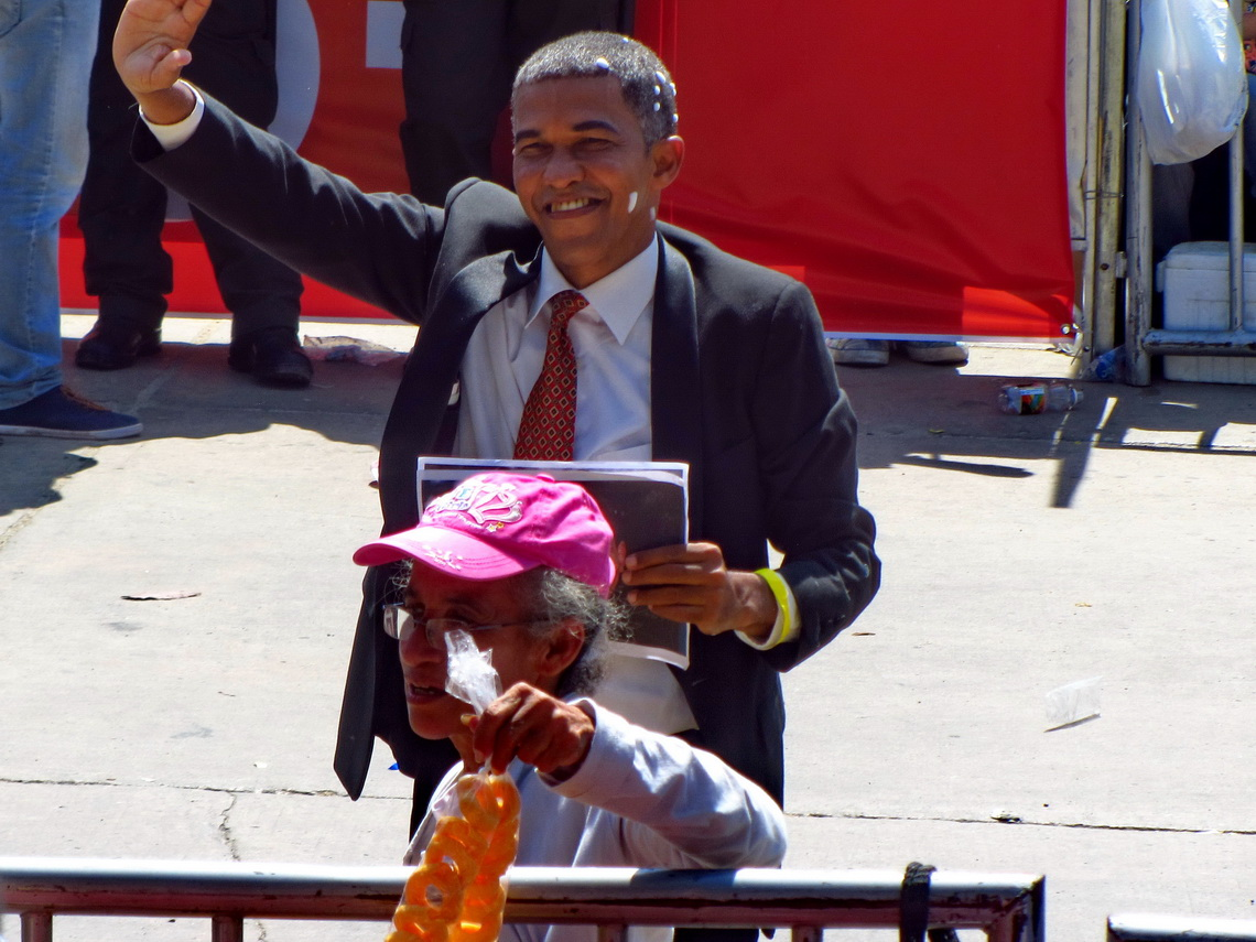 Barack Obama in Barranquilla?