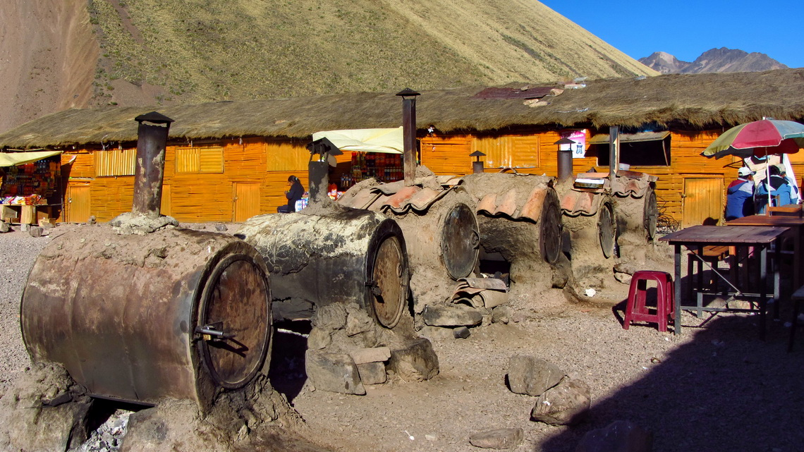 Stoves of Aguas Calientes