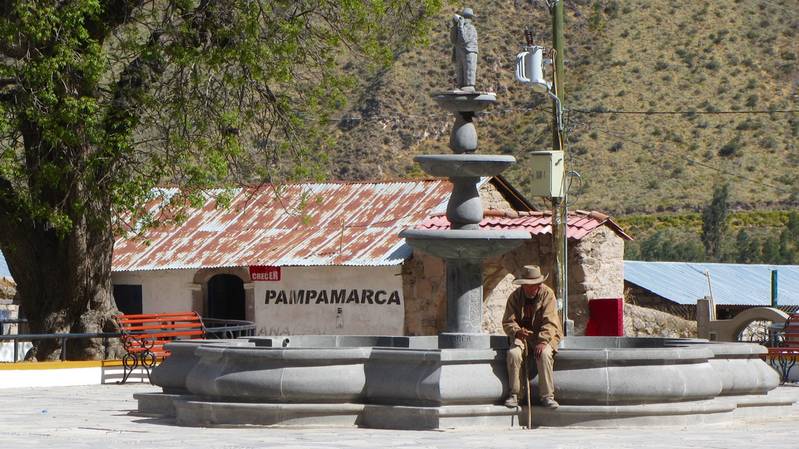 Main square of Pampamarca
