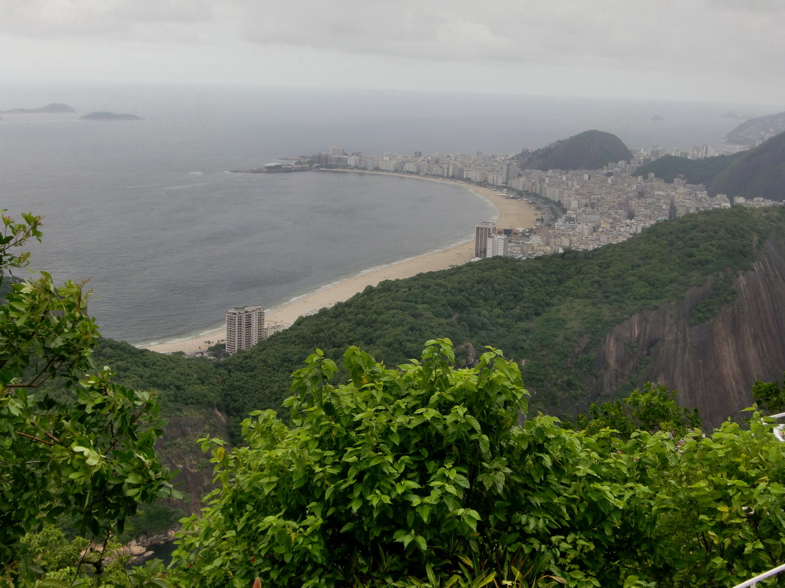 Copacabana from the Sugar Loaf