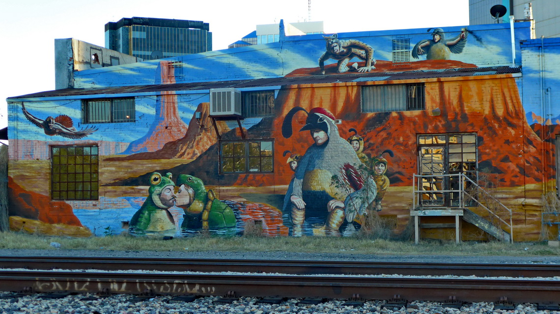 Another nice mural in Tucson