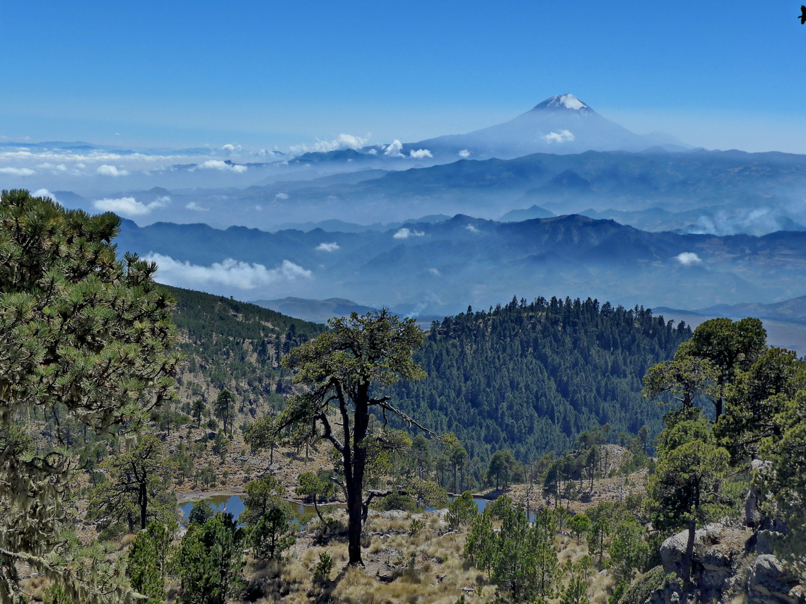 Citlaltepetl (Pico de Orizaba) which is the highest peak between Colombia and Alaska
