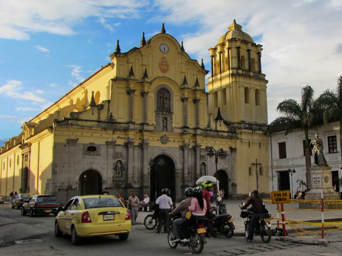Church Iglesia de San Francisco in Popayan