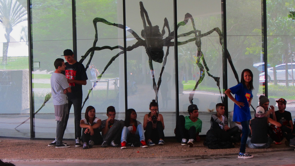 Spider in the Museu de Arte Moderna