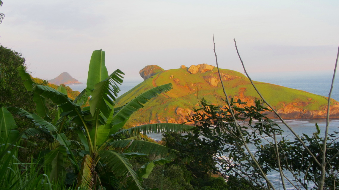 Pedra da Tartaruga - Turtle's Rock in the late evening light