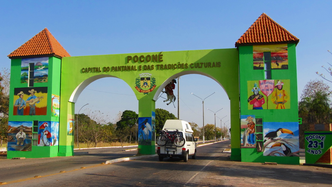 Welcome to the capital of the Pantanal