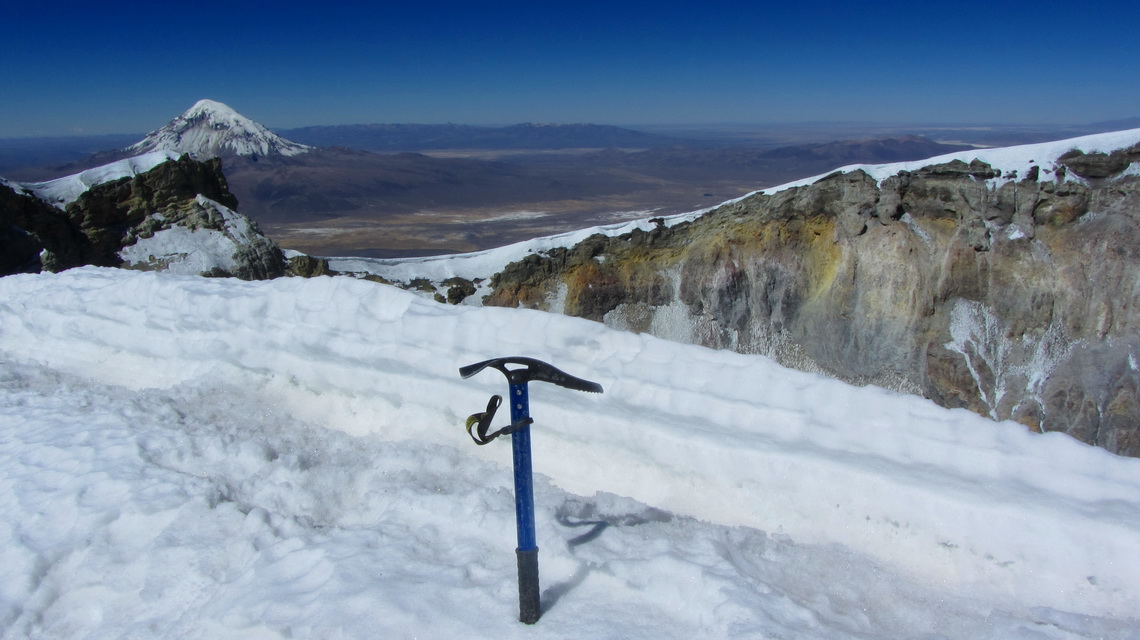 Summit of Volcan Parinacota