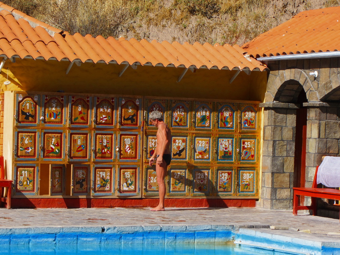 Hot springs of La Calera close to Chivay